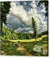 A Peacful Yosemite Day Acrylic Print