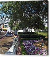 A Perfect Day On The Boardwalk Walt Disney World Acrylic Print