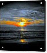 A Phoenix Firebird Sunset Acrylic Print