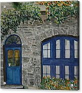 A Picturesque Corner Of France Acrylic Print