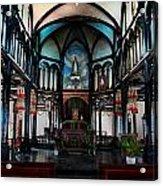 A Place Of Faith Acrylic Print by Kim Lagerhem