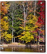 A Place To Relax In The Adirondacks Acrylic Print
