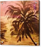 A Popular Tropical Scene Acrylic Print