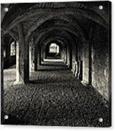 A Priory Vault. Acrylic Print
