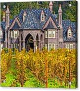 The Ledson Castle - Kenwood, California Acrylic Print