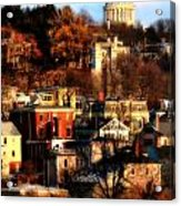 A Providence Hillside Acrylic Print