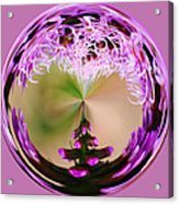 A Purple Design Acrylic Print