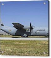 A Qatar Emiri Air Force C-130j-30 Acrylic Print