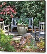 A Quiet Place To Meet Acrylic Print