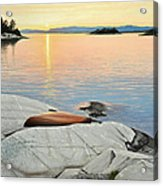 A Quiet Time Acrylic Print by Kenneth M  Kirsch