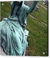 A Raised Hand -- Thomas Trueman Gaff Memorial -- 2 Acrylic Print