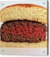 A Rare Hamburger Acrylic Print