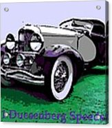 A Real Duesey Acrylic Print