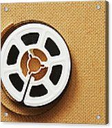 A Reel, Or Spool, Of 8mm Movie Film Acrylic Print