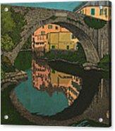 A River Acrylic Print
