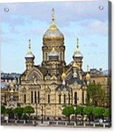 A River View Of Saint Petersburg Acrylic Print