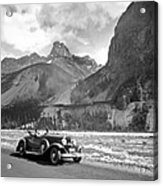 A Roadster In The Rockies Acrylic Print