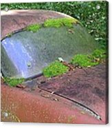 A Rolling Car Gathers No Moss Acrylic Print