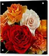A Rose Bouquet Acrylic Print