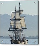 A Row With Lady Washington Acrylic Print by Barrie Woodward