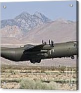 A Royal Air Force C130k Hercules Acrylic Print