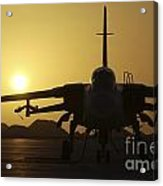 A Royal Air Force Tornado F3 Acrylic Print