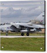 A Royal Air Force Tornado Gr4 Preparing Acrylic Print