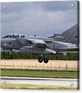 A Royal Air Force Tornado Gr4a Landing Acrylic Print