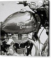 A Royal Enfield Motorbike Acrylic Print