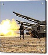 A Royal Jordanian Land Force Challenger Acrylic Print
