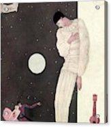 A Sad Reveler Acrylic Print