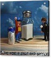 A Salt And Battery Acrylic Print