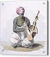 A Sarinda, Or Hindostan Type Violin Acrylic Print