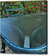 A Sea Of Zinnias 03 Acrylic Print