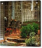 A Seat In The Shade Acrylic Print