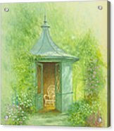 A Seat In The Summerhouse Acrylic Print