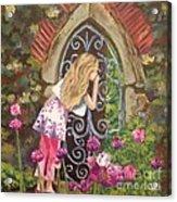 A Secret Garden Acrylic Print