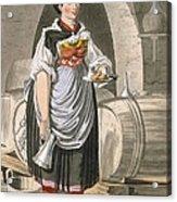 A Serving Girl At An Inn Acrylic Print