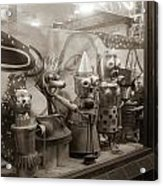 A Shop Window At Berkeley Acrylic Print by Hiroko Sakai