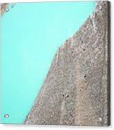 A Silty Glacier-dammed Lake Acrylic Print