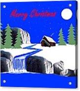A Simple Christmas Acrylic Print