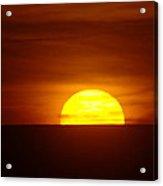 A Slow Sunset Acrylic Print
