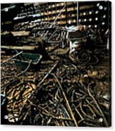 A Snake Pit Of Wires Acrylic Print