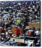 A Snowy City...buffalo Ny 2013 Acrylic Print