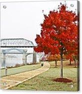 A Soft Autumn Day Acrylic Print