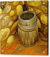 A Sole Barrel Acrylic Print