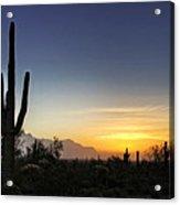 A Sonoran Sunrise  Acrylic Print