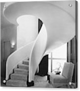 A Spiral Staircase Acrylic Print