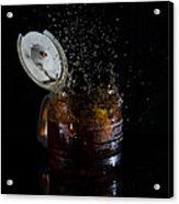 A Splash Of Coffee Acrylic Print