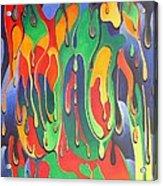 A Splash Of Paint Acrylic Print
